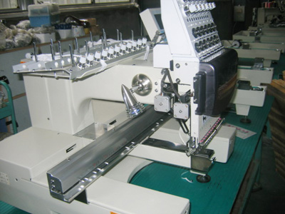 single head cap embroidery machine (Einkopf-cap-Stickmaschine)