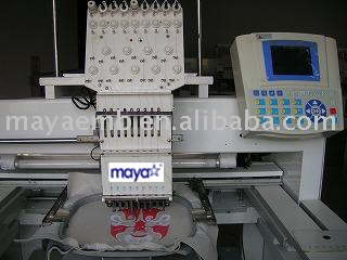 tuft embroidery machine (Büschel Stickmaschine)