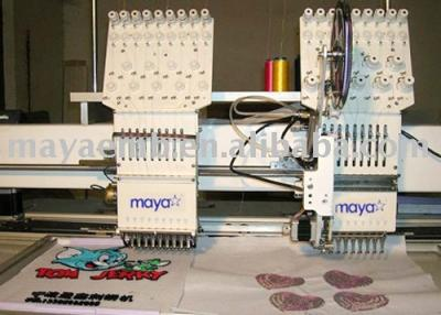 Tuft embroidery machine (Tuft Stickmaschine)