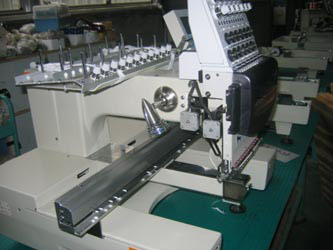 Single head cap embroidery machine (Einkopf cap Stickmaschine)