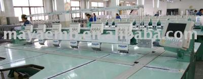 MAYASTAR Flat embroidery machine (MAYASTAR Flat Stickmaschine)