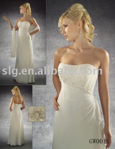 GW0011 bridesmaid dress (GW0011 платье невесты)