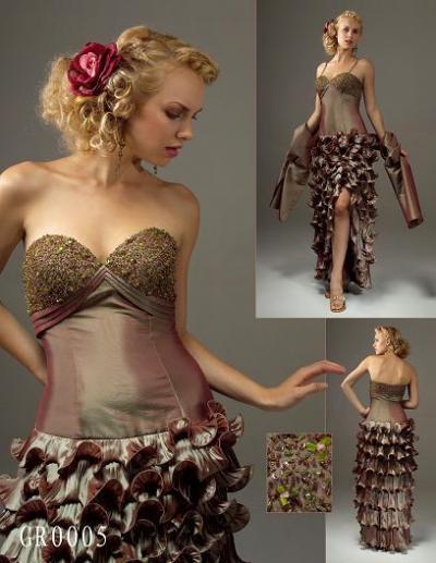evening dress (вечернее платье)
