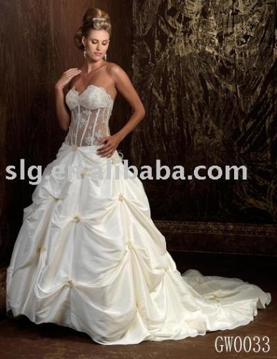 GW0033 wedding dress (GW0033 свадебное платье)