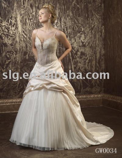 GW0034 wedding dress (Платье GW0034 свадьбы)