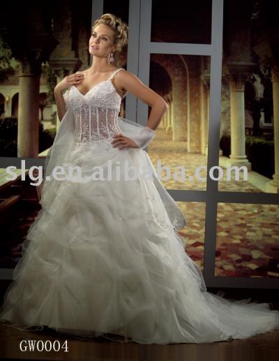 GW0004 bridal dress (GW0004 свадебные платья)