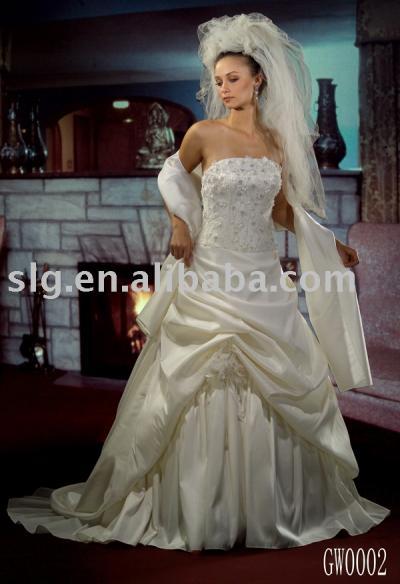 GW0002 wedding gown (GW0002 свадебном платье)