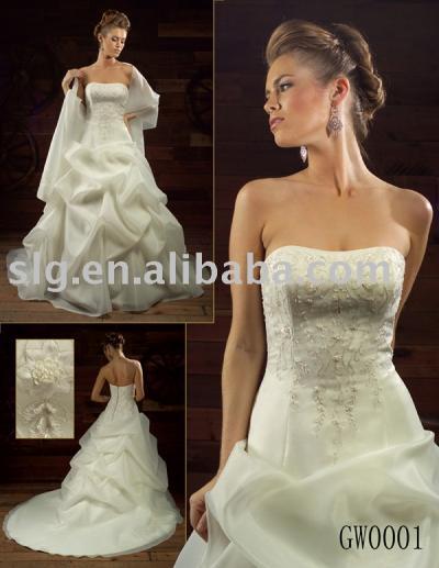 GW0001 wedding dress (GW0001 свадебное платье)