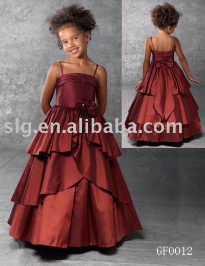 GF0012 flower dress (Платье GF0012 цветок)