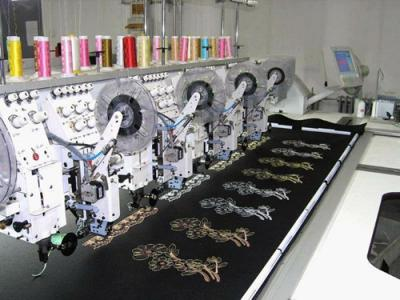 TNPD Series Computer Taping Embroidery Machine (TNPD Serie Computer Taping Stickmaschine)