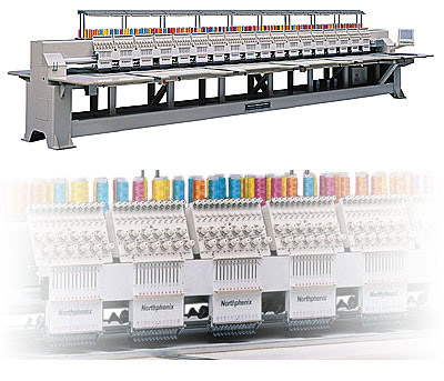 TNB Series Embroidery Machine (TNB Serie Stickmaschine)
