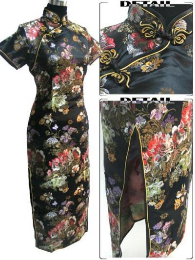 Китайский классический стиль одежды, бальное платье.