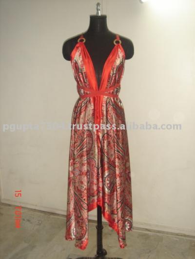 Multi Wear Scarf Dress (Multi Wear Шарф платье)