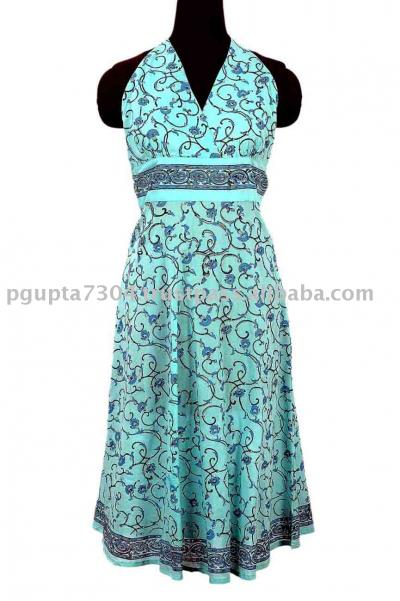 Cotton Halter Dress (Хлопок Halter Dress)
