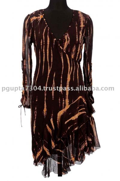 Georgette Wrap Dress (Жоржетта Wrap платье)