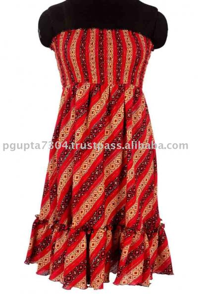 Cotton Crepe Busted Dress (Хлопок Креп Busted платье)