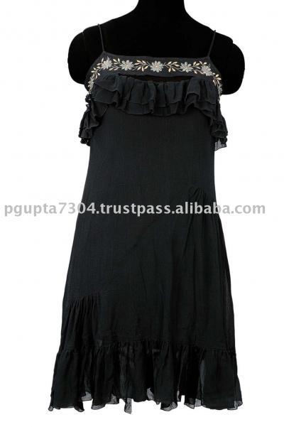 Georgette Embroidered Dress (Жоржетта вышитые платья)
