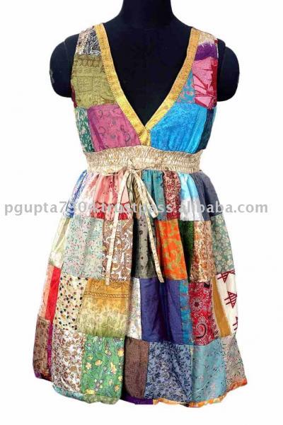 Saree Patch Short Dress (Сара Патч короткое платье)