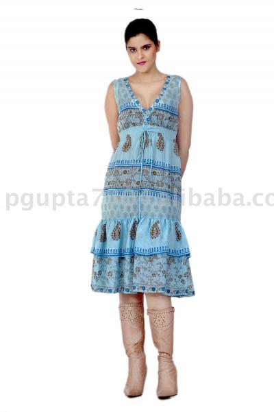 Silk Habotai Dress (Шелковое платье туаль)