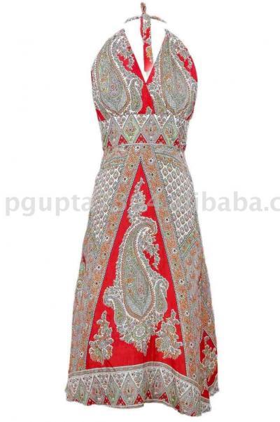 Silk Halter Dress (Шелковое платье Halter)