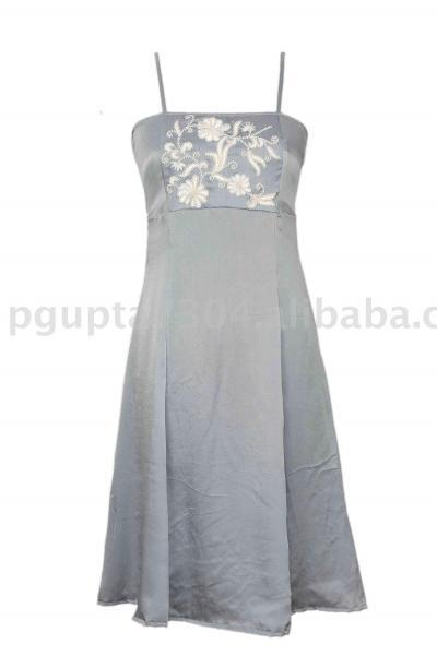 Satin Silk Dress (Атласные шелковое платье)