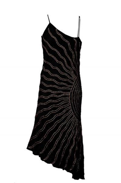 Silk Sequenced Dress (Шелковое платье Секвенированных)