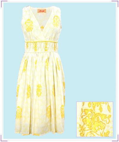 Cotton Designer Dress (Хлопок конструктор платье)