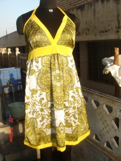 Satin Scarf Dress (Атласное платье Шарф)