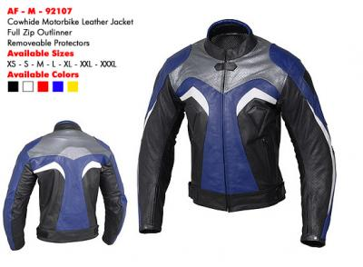 Leather Motorbike Jacket (Куртка кожа мотоцикл)