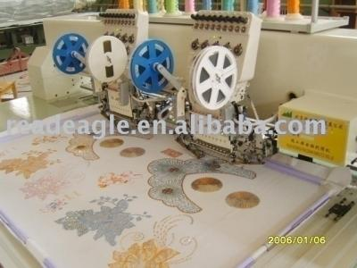 double sequin Embroidery Machine (Doppel-Pailletten-Stickerei-Maschine)