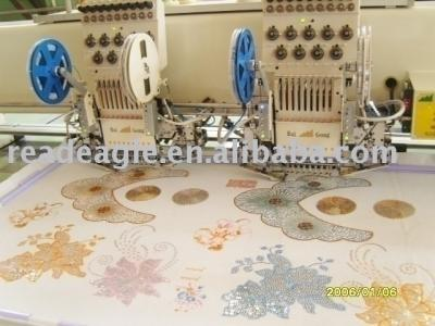 sequin embroidery machine (Pailletten-Stickerei-Maschine)