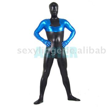 Lycra Wet Look Catsuit ,Zentai (Lycra Wet Look Catsuit ,Zentai)