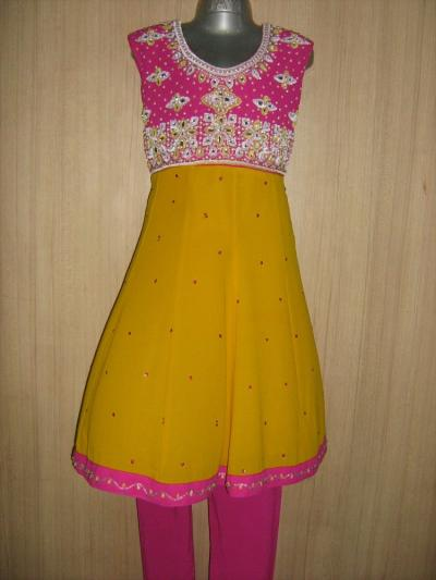 Sequence Dresses on Of Sequence Zardoshi Badla Zari Diamond Work W Kids Dress