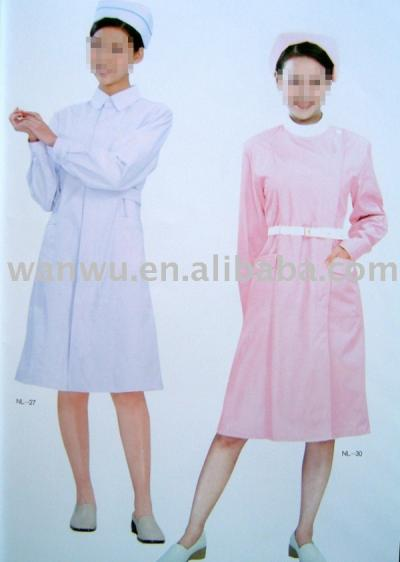 nurse` uniform,medical uniform (`uniforme d`infirmière, uniforme médicaux)