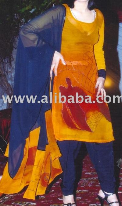 Fancy Silk Dress Sl-01 (Fancy шелковое платье Sl-01)