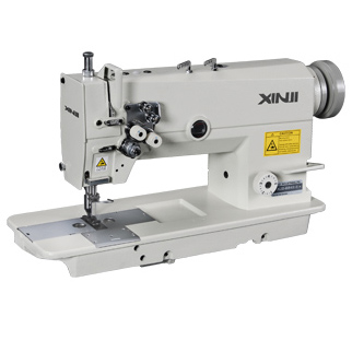 Double Needle Lockstitch Sewing Machine (Model: Xj2-B842)