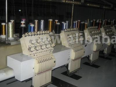 Embroidery Machines (Stickmaschinen)