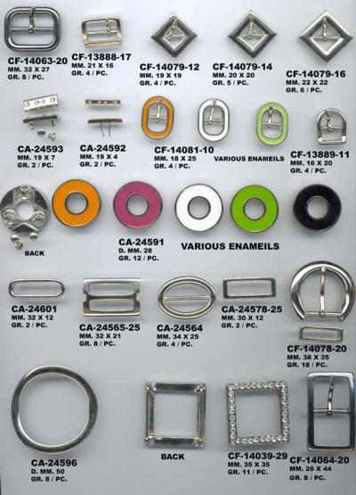 Italian Buckles, Buttons And Accessories (Итальянский пряжки, пуговицы и аксессуары)