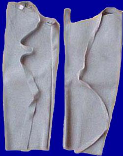 Welding Arm Sleeve Made Of Split Leather. (Сварочные рука ручка изготовлена из Сплита Кожа.)