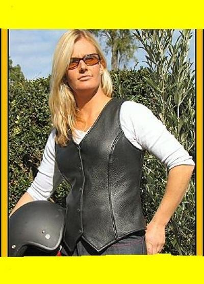 Leather Vest Coat (Кожа Вест Герб)