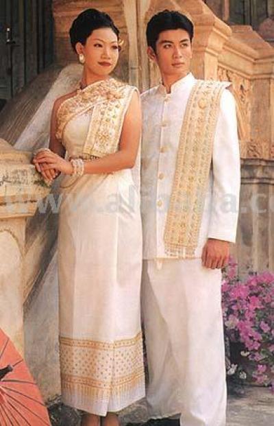 Thai wedding dress for men