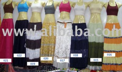 Women`s Cotton Skirt (Женская Хлопок Юбка)