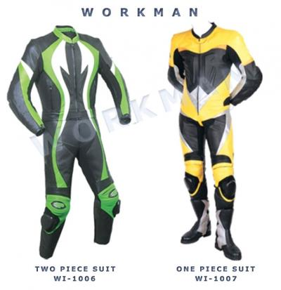 Motorbike Leather Racing Suits (Motorrad-Leder Rennanzüge)