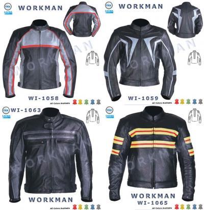 Motorbike Leather Jacket (Motorrad Lederjacke)