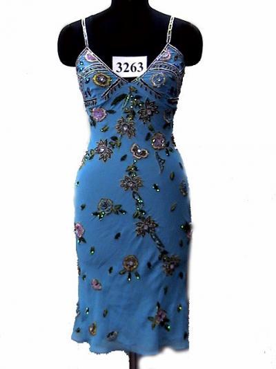 Ladies Long Beaded Dress (Дамы Long бисером платья)