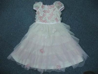 New Stock Flower Girl Dress (Нью-Йоркской фондовой Цветочница платье)