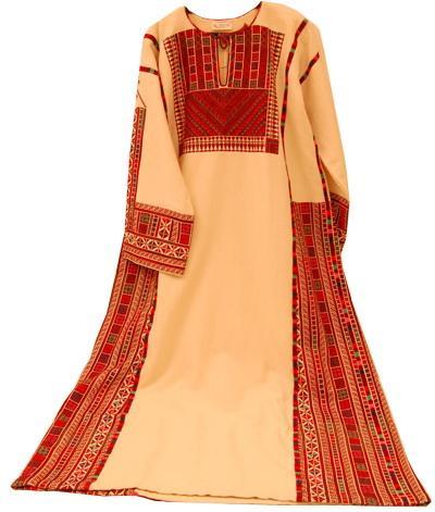 Handcraft Embroidery Palestinian Dress (Наша вышивка палестинской платье)