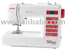 Janome Heart Truth Electronic Sewing Machine Ht2008 (Janome Heart Truth Elektronische Nähmaschine Ht2008)