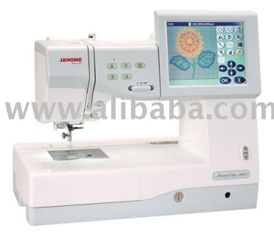 Janome Memory Craft 11000 Embroidery %26 Sewing Machine