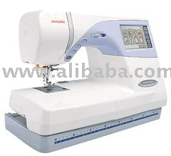 Janome Memory Craft 9500 Embroidery %26 Sewing Machine